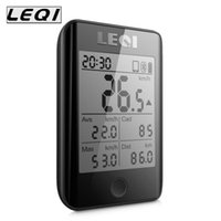 Wholesale wireless bike speedometer - LEQI Pro Internet Bike Computer Speedometer Cadence Combo Sensor Cycling Computer Wireless Waterproof Bicycle Digital Stopwatch Cycling