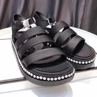 Wholesale square flip flops - Summer Sandals Casual Shoes Ch' Brand Original Quality Sandals Slippers Slide Huaraches Flip Flops Loafers Scuffs