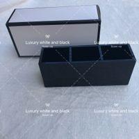 acryl make-up-organisatoren großhandel-Mode-Bürsten-Container 3 Gitter Mode Marke Kosmetikkoffer Werkzeug Luxus Make-up Veranstalter Tasche Kulturbeutel Acryl Box Augenbraue Halter