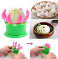 Wholesale tools make bun - Bun Dumpling Maker Mold Pastry Pie Steam Mould DIY Steamed Stuffed Bun Making Mold Kitchen Cooking Tools OOA4404
