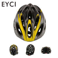 casco de montaña amarillo al por mayor-Ciclismo Mountain Bicycle Road Bike Racing Casco de seguridad 21 hoyos Muchos estilos Breezier Exquisite Comfortable Yellow