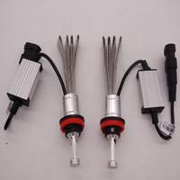 h1 zwiebelsatz großhandel-Kühles Weiß 300W 30000LM H7 H1 H4 H11 9005 9006 9007 Canbus LED-Scheinwerfer-Kit-Auto-Strahl-Birnen 6000K