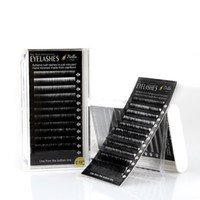 Wholesale Individual Lashes 14mm - Bella Mink Hair Eyelashes Extensions B C D J Curl Professional Salon Use Thickness 0.15mm Individual Volume Lashes Length 8-14mm Mixed Tray