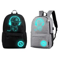 Wholesale backpacks for college students laptops for sale - Group buy Outdoor Hiking Backpack Student School Bags Bright For Teenager Charging Computer Computer Anti theft Laptop Backpack