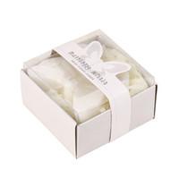 kokulu sabunlar düğün iyilikleri toptan satış-2018 Sıcak romantik Yaratıcı Kelebek şekli Düğün Iyilik Gelin Parti Hediye Mini Kokulu Duş Banyo Sabunu Düğün hediyesi