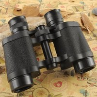 Wholesale binocular for sale - Group buy 8 Telescope HD Binoculars Night Vision Handheld Portable Wide Angle Coordinate Ranging Shockproof Leather Skin Binoculars DHL