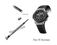 отвертка для ремонта часов оптовых-Watch Screwdriver for H screw Hublot Watch Bezel Band Strap Repair Tool - двустворчатое лезвие, идеально подходящее для ремонта часов