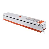 Wholesale Portable Food Vacuum Sealer - Fast Shipping 220V 110V Automatic Electric Food Vacuum Sealer Portable Household Vacuum Packing Machine With Free Gift 15 bags
