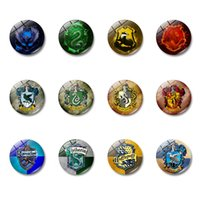 Wholesale ship shaped magnets resale online - Glass Cabochon Fridge Magnet School Sign Refrigerator Magnet Fans Home Décor Will and Sandy Drop Shipping
