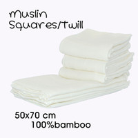 Wholesale Miababy Muslin Squares Cloth bamboo for baby Reusable Nappy Bibs Wipes Burp Cloth Nappy Liners Baby Feeding Wipes
