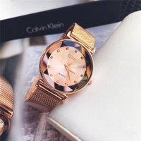 classic watches à venda venda por atacado-Venda quente de luxo da marca de malha de diamante cinto relógio das mulheres QUARTZ relógio de luxo relógios de moda clássica Relogio marca relógios para femme