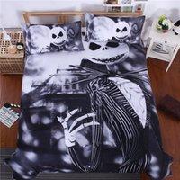 gato adulto set venda por atacado-Projetos 3D horror do natal jogo de cama queen size king impressão reativa boa rapidez desenhos animados projeta tigre leopardo linon cat seatacion