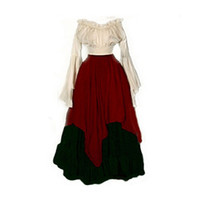 Wholesale period clothing online - Georgian Victorian Gothic Period Cosplay Reenactment Theatre Costumes Clothing