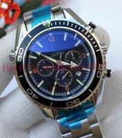 relógios plásticos de tela de toque venda por atacado-Relógio de luxo Homens Esportes Relógios Mecânicos Mens James Bond 007 Skyfall Co-Axial 2813 Movimento Automático Relógios de Vento-Auto Moda relógio de Pulso