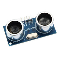 module arduino de capteur à ultrasons achat en gros de-Livraison gratuite 100Pcs / lot Module ultrasonique HC-SR04 Capteur de transducteur de mesure de distance pour échantillons arduino Meilleurs prix