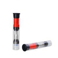 buharlaştırıcı kalem camı toptan satış-100% orijinal Amigo Liberty V1 Kalın Yağ Tankı Atomlaştırıcılar Vape Kalem Buharlaştırıcı Cam Tankı 510 Kartuş 0.5 ml 1.0 ml Cam Tankı Atomizer