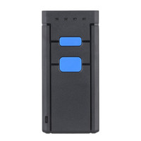 Wholesale mini portable scanners resale online - Mini Wireless Bluetooth Barcode Scanners Barcode Scanners CCD Reader Portable Wireless One Size Red Light