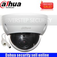 dahua hd venda por atacado-Original Dahua DH-SD22404T-GN CCTV IP 4MP Rede Full HD Mini PTZ IP Dome Zoom óptico de 4x SD22404T-GN POE câmera