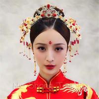 Kaufen Sie Im Grosshandel Chinesische Rote Haare Zubehor 2018 Zum