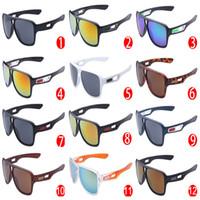 radfahren sonnenbrille verkauf großhandel-Nagelneue heiße Verkaufs-Mann-Sonnenbrille-Sport-Schauspiel-Frauen-Schutzbrillen-Glas-Radfahrensport-im Freiensonnenbrille 12colors Freies Verschiffen