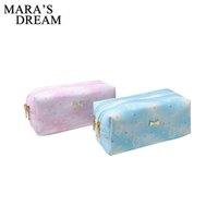 beauty dream großhandel-Mara's Dream Frauen Portable Niedlich Multifunktions Beauty Travel Kosmetiktasche Organizer Fall Make-up Make-up Wash Pouch Kulturbeutel