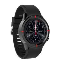 экранные устройства оптовых-Мужчины Женщины цветной экран GW12 GPS Smart Watch Heart Rate Tracker Smartwatch SIM-карты для Android для IOS телефон смарт-устройства