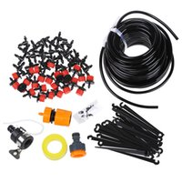 Wholesale diy drip hose for sale - LHBL m DIY mini Drip Irrigation System Plant Self Watering Garden Hose Kits