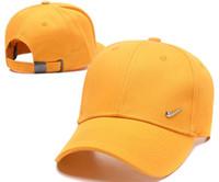 Wholesale american style baseball caps for sale - Group buy New Brand Caps hats Design Hip Hop strapback Adult Baseball Caps Snapback Solid Cotton Bone European American Style Fashion hats