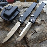 """Wholesale best quality knives - best quality MTautoTF Halo V vg10 blade Tanto Knife (4.6"""" Satin) 150-4 single action automatic Tactical knife gear knives with kydex sheath"""