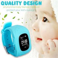 цифровые часы оптовых-Q50 ЖК-GPS трекер для ребенка Kid smart Watch SOS Безопасный вызов Location Finder трекеры smartwatch для детей Дети анти потерянный монитор