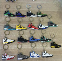 Discount men ring red gold - Creativekey buckle rubber Keychain Key Ring PVC soft Keychain