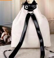 lona mochila mala escola ombros venda por atacado-2018 Designer de Mochilas Bolsas de Grife de Luxo Famosa Marca Mulheres Mochila de Lona de Alta Qualidade Moda Feminina Bolsas Escola Bolsa de Ombro