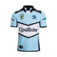 Wholesale Top New Products - CRONULLA SHARKS 2018 Away JERSEY size S--3XL New products are listed, top quality , free delivery. SYDNEY ROOSTERS 2018 HOME
