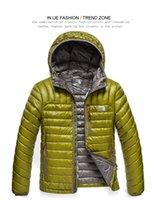erkekler spor rahat moda ceket toptan satış-Erkek marka moda ceket aşağı sıkıştırmak açık spor uygun taşıma kapşonlu tutmak sıcak gevşek ceket rahat kapüşonlu ceket aşağı