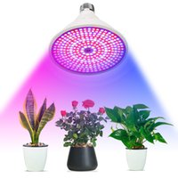 ingrosso il led rosso 3w aumenta di luce-290 LED Dual Head Plant Grow Light con doppio interruttore Iindoor Smart Garden Piantina Growing Blooming Fruiting in Greenhouse Lamp Flower