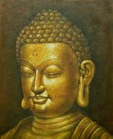 ingrosso arte dell'olio d'oliva-Pittura a olio a mano buddha tela di legno wall art immagini a olio home decoration regali unici Kungfu Art