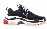 homens sapatos casuais coreano venda por atacado-Tripe-S Retros Running Shoes Mens Shoe Casual Dad Moda Calçados Clunky Sneaker GD Rocky mesmo estilo coreano Muffin Grosso Inferior.