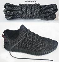 Wholesale Kanye West Chain - New Hot retail 350 boost Shoelaces kanye west shoes Shoe Laces 350 V2 Runner Shoe Laces turtle dove pirate black colors 12Cm