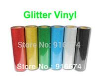 "1 sheet 30cmx50cm (12""x20"") Glitter vinyl for heat transfer heat press cutting plotter Made in South Korea"