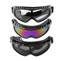 ingrosso moto chiaro-Cool Protection Cycling Eyewear Goggles Tactical Paintball Clear Glasses Wind Dust Motorcycle