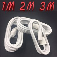 Wholesale Universal Cellphone Charger - Micro USB Cable Charger 1M 3FT 2M 6FT 3M 9FT Data Sync Charging Adapter Cords For Samsung xiaomi Cellphone Android Type-C Tablet