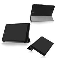 s3 fach groihandel-Schutzhülle für Samsung Galaxy Tab S3 S3 TM-T820 T825 T829 9.7 Slim Magnetic Flip 3 Klappbarer PU-Leder-Tablet-Deckel