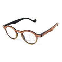 óculos de sol de visão distante venda por atacado-Retro Vintage Óculos De Leitura Progressiva Multifocal Óculos Multi Foco Perto e Far Multifunções Óculos Óculos + 1.0 ~ + 3.0 Grão De Madeira