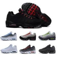 b3148af69ae3d Nike Air Max 95 sneakers Venta al por mayor 2018 Venta caliente Hombres Air  Cushion 95 Zapatillas de deporte Auténticos Zapatos deportivos para hombres  Top ...