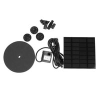Wholesale Water Pump Controller - Irrigation Watering Kits -Powered Pump Brushless DC 7V Solar Power Fountain Pool Water Pump Garden Plants Watering Kit pond