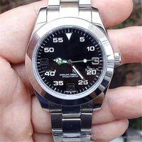 Wholesale 2018 Luxury Watch AAA Brand Air King Stainless Steel Sapphire Glass Mirror Automatic Mechanical Men Mens Watch Watches