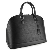 Wholesale Celebrity Brand Handbags - 2018 brand Celebrity Style Designer Brand Fashion Shell ALMA bags women's handbag evening bag Water ripple bag