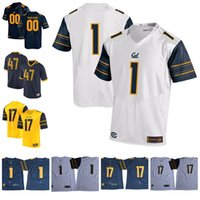 Wholesale Aaron Rodgers Jersey Football - Custom California Golden Bears College Football 2018 Cal Bears 3 Bowers 8 Aaron Rodgers Rodgers Lynch 16 Jared Goff Any Name Number Jerseys