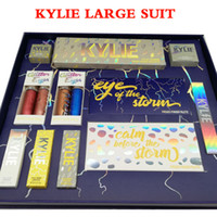 Wholesale Light Pink Lip Gloss - Latest Set kylie The Weather Collection Bundle Flash Gloss lip Glitter eyeshadow Highlighter Lipstick Storm Full set Glittter Eyes free DHL