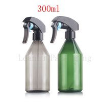 Wholesale plastic household products - 300ml X 12 fine mist trigger sprayer bottle container for cosmetics, home cleaners, household glass cleaners, bathroom products